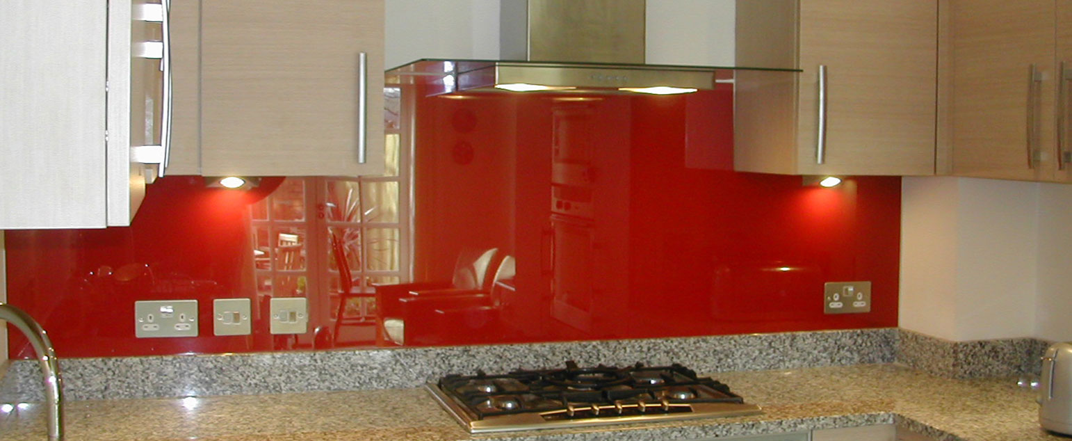 Kitchen Glass Splashbacks South Kensington